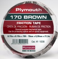 170 BROWN Friction Tape